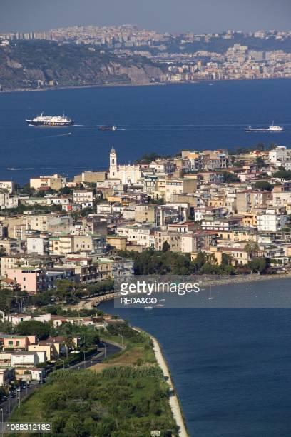 Cityscape Bacoli Gulf of Pozzuoli Campi Flegrei Campania Italy
