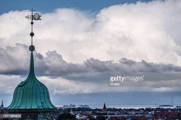 cityscape copenhagen, denmark - vsojoy stock pictures, royalty-free photos & images