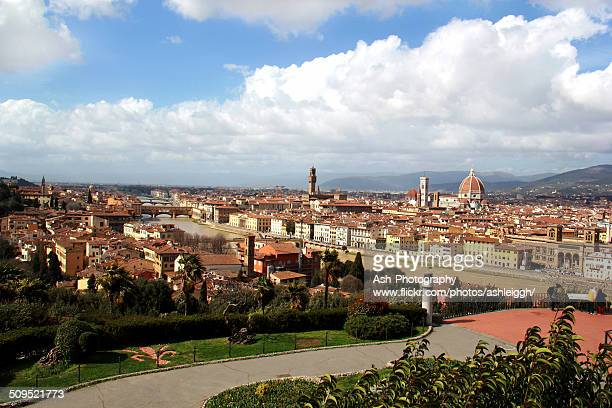Cityscape in Florence