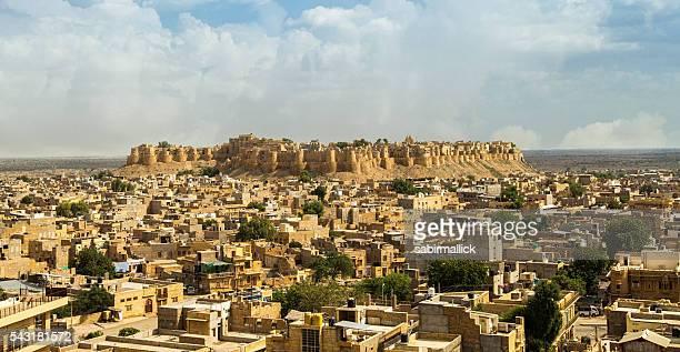 Cityscape, Jaisalmer, Rajasthan, India