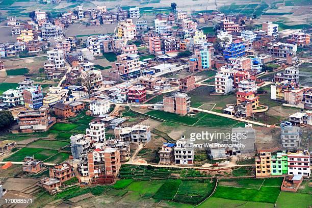 cityscape, kathmandu, nepal - nepal photos stock pictures, royalty-free photos & images