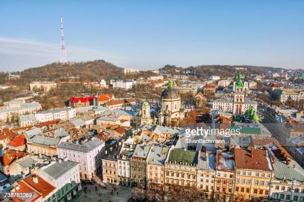 Cityscape, Lviv, Ukraine