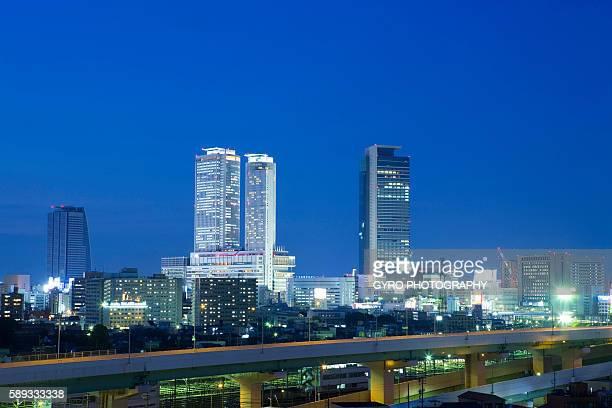 Cityscape, Nagoya, Aichi Prefecture, Japan