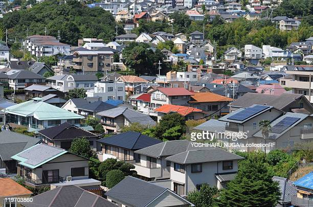 cityscape, nishinomiya city, hyogo prefecture, japan - 西宮市 ストックフォトと画像