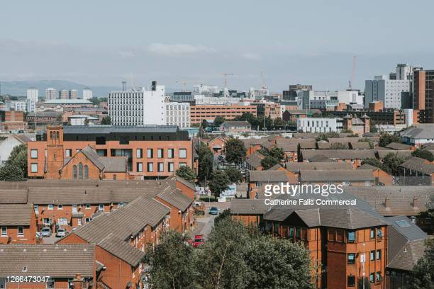 cityscape, northern ireland - belfast stock pictures, royalty-free photos & images