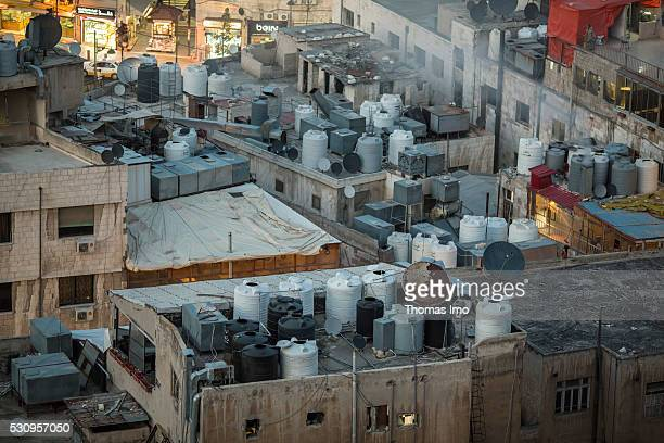 Cityscape of Amman on April 03 2016 in Amman Jordan