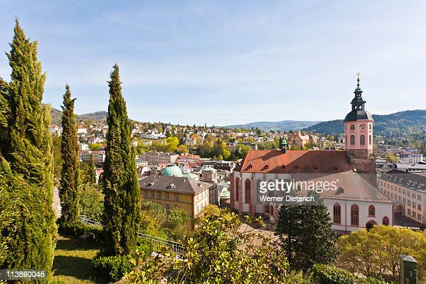 Cityscape of Baden-Baden, Black Forest, Germany