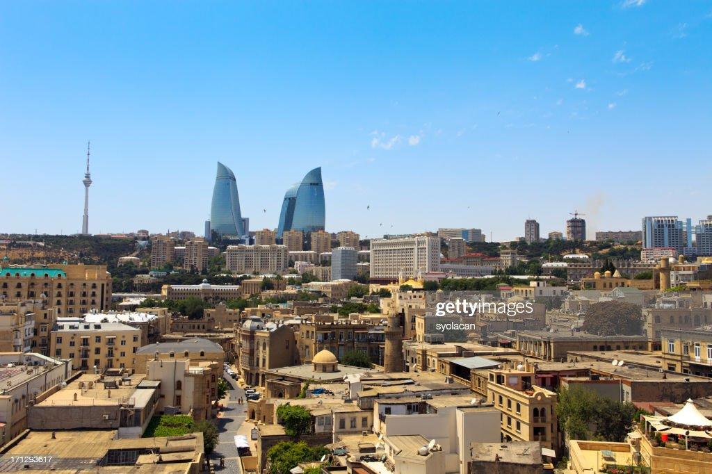 Cityscape of Baku : Stock Photo