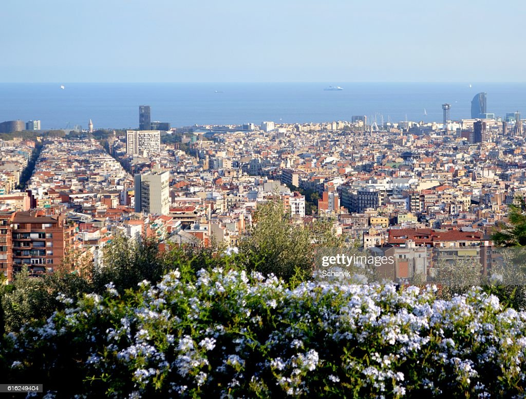 Cityscape of Barcelona : Stock Photo
