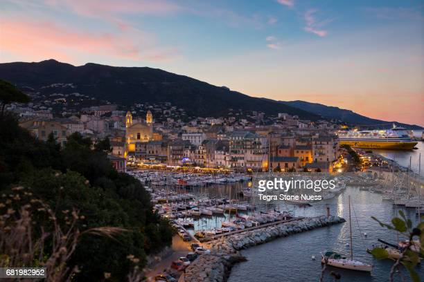 Cityscape of Bastia, Corsica