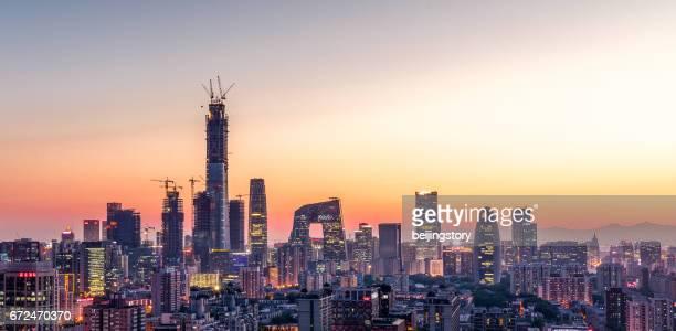 Stadtbild von Peking, China