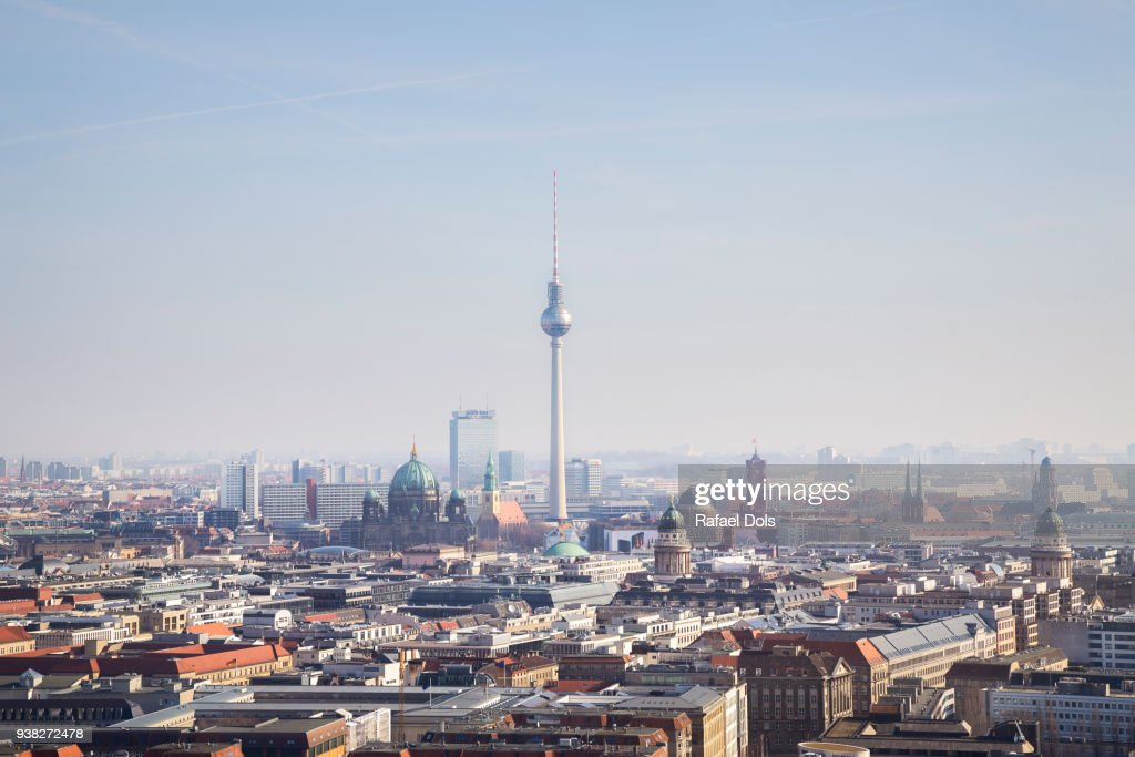 Cityscape of Berlin : Foto de stock