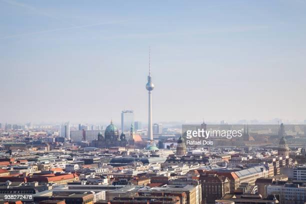 cityscape of berlin - gendarmenmarkt stock photos and pictures