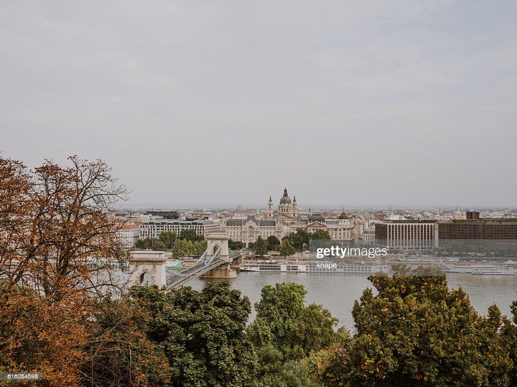 Cityscape of Budapest : Stock Photo