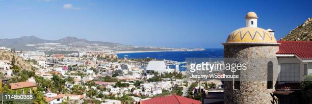 cityscape of cabo san lucas - cabo san lucas stock pictures, royalty-free photos & images