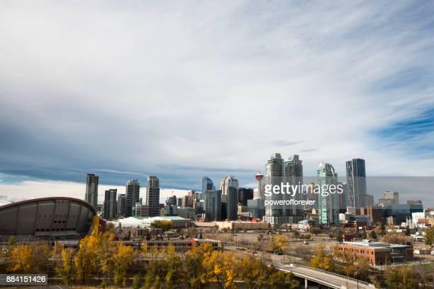 Cityscape of Calgary, Alberta, Canada
