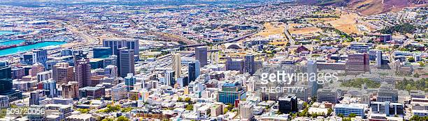 Cityscape of Cape Town city centre, South Africa