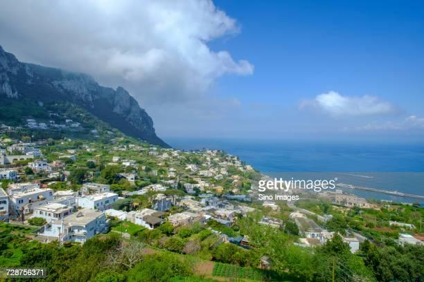 cityscape of capri, italy - image foto e immagini stock