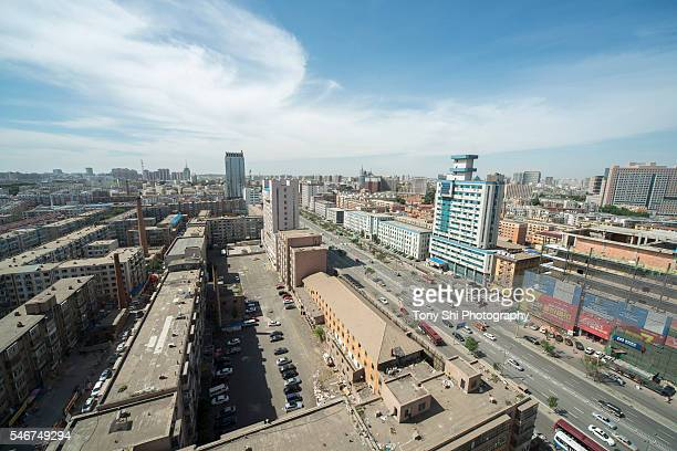 Cityscape of Changchun - Jilin - China
