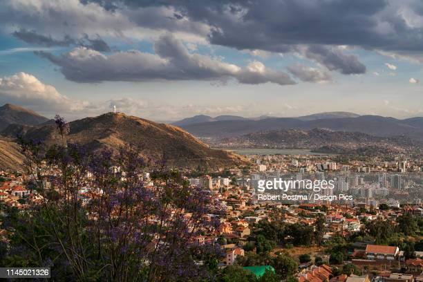 cityscape of cochabamba - cochabamba stock pictures, royalty-free photos & images