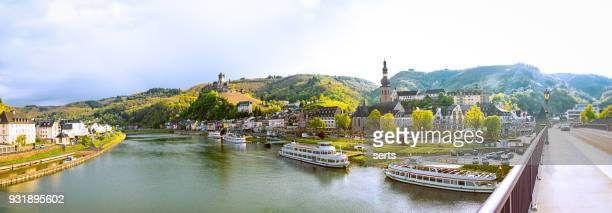 Stadtbild von Cochem und der Fluss Mosel, Deutschland