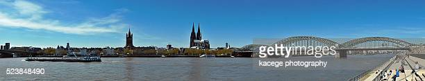 Cityscape of Cologne, panoramic view