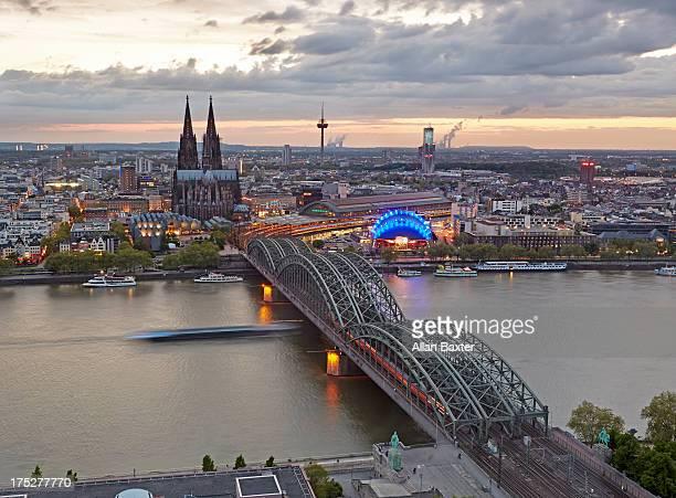 Cityscape of Cologne