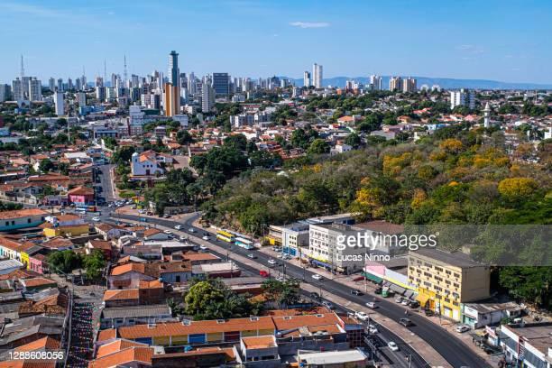 cityscape of cuiabá - クイアバ ストックフォトと画像