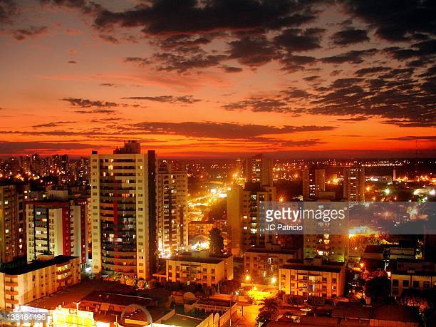 cityscape of cuiaba - cuiabá stock photos and pictures
