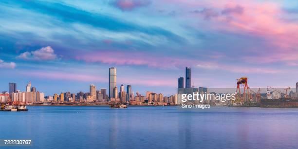 Cityscape of Dalian, Liaoning, China