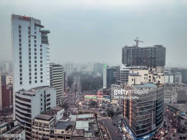 cityscape of dhaka , bangladesh - dhaka stock pictures, royalty-free photos & images