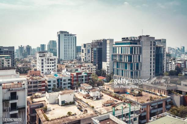 cityscape of dhaka, bangladesh - dhaka stock pictures, royalty-free photos & images