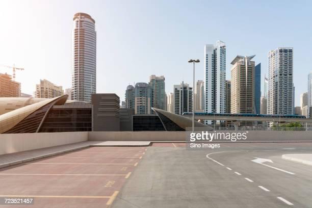 cityscape of dubai, united arab emirates - image stock pictures, royalty-free photos & images