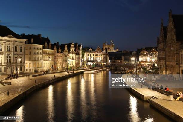 cityscape of Ghent
