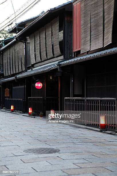 Cityscape of Gion, Kyoto Prefecture, Honshu, Japan