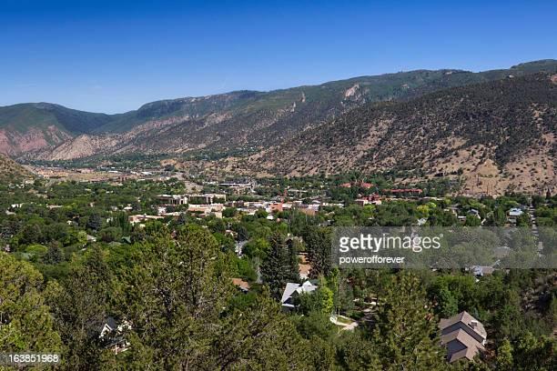 Cityscape of Glenwood Springs, Colorado