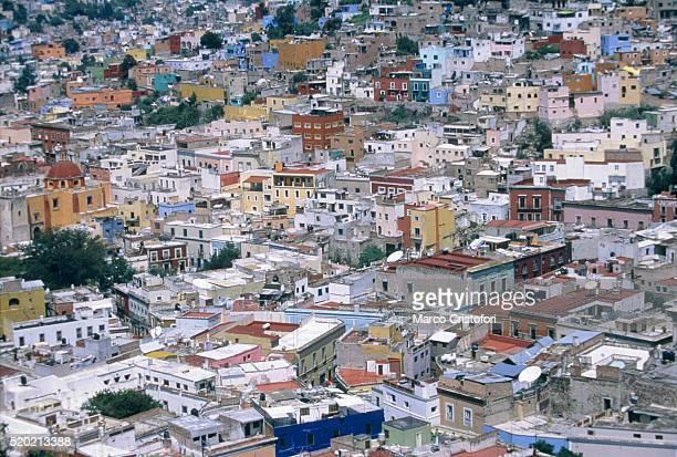 cityscape of guanajuato, mexico - marco cristofori fotografías e imágenes de stock