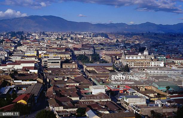 Cityscape of Guatemala's second largest city, Quetzaltenango, Guatemala, Central America & the Caribbean