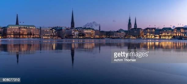 Cityscape of Hamburg, Germany, Europe