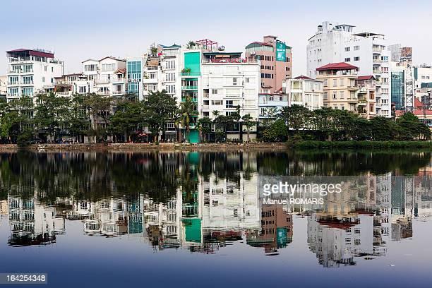CONTENT] Cityscape of Hanoi Vietnam