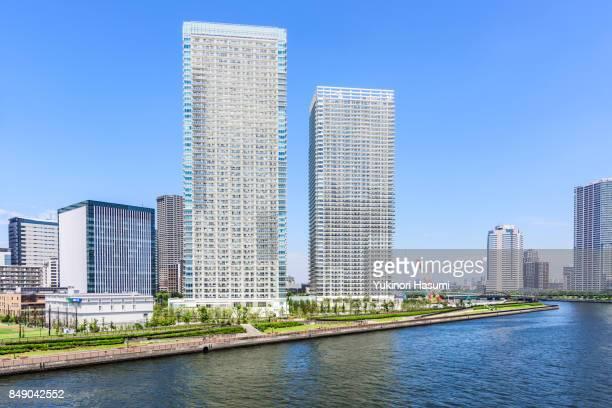 Cityscape of Harumi, Tokyo