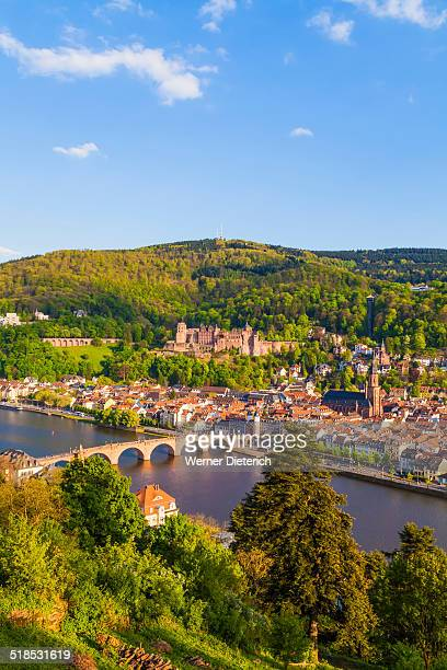 Cityscape of Heidelberg, Germany