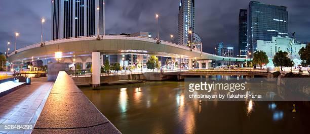 Cityscape of Higobashi