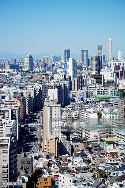 Cityscape of Ikebukuro