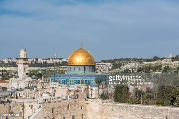 Cityscape of Jerusalem february 27th 2017l Jerusalem Israel