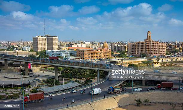 Cityscape of Karachi