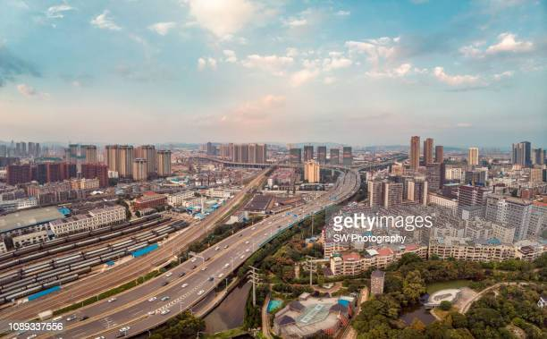 cityscape of kunming - kunming stock pictures, royalty-free photos & images