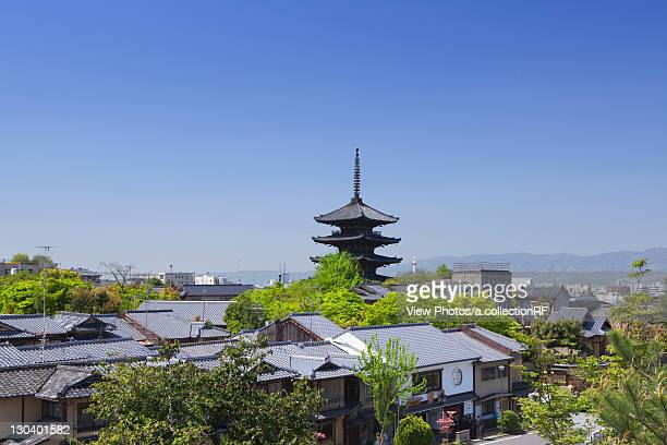 Cityscape of Kyoto, Kyoto Prefecture, Honshu, Japan