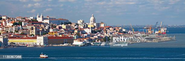 cityscape of lisbon - gwengoat stock pictures, royalty-free photos & images