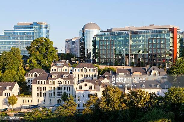 cityscape of luxembourg city, luxembourg - luxembourg city luxembourg stock pictures, royalty-free photos & images